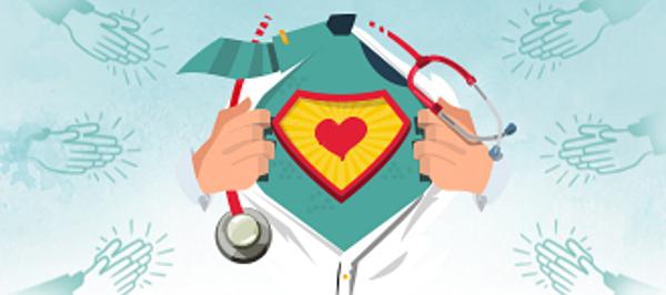 Sağlık Çalışanları Bağış Sertifikası 1 - Elektronik